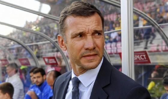 Andriy Shevchenko, commissario tecnico della nazionale ucraina