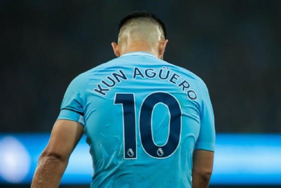 Sergio Aguero, attaccante del Manchester City e della nazionale argentina