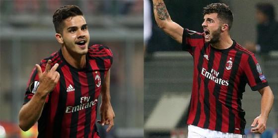 AS9 e Cutro-gol, i due giovanissimi bomber rossoneri