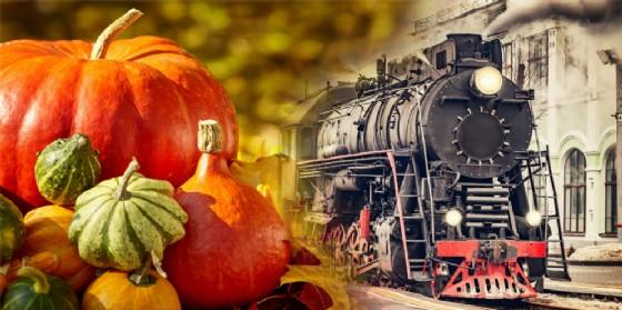 Festa della Zucca di Venzone: per la 25^ edizione c'è anche il treno storico! (© Adobe Stock)