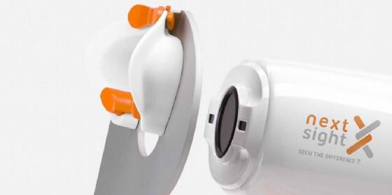 L'azienda friulana ha inventato la macchina in grado di leggere il fondo dell'occhio (© Next Sight)