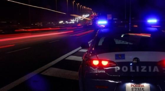 Moto contromano sfreccia nella notte (© Diario di Torino)