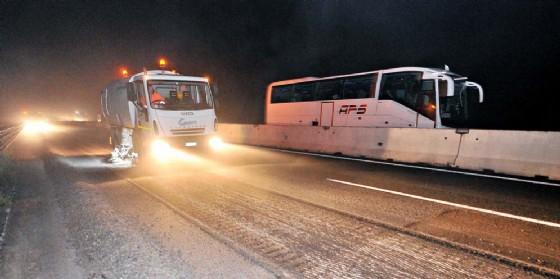 A4: asfaltature in più punti dell'asse autostradale (© Simone Ferraro| Foto Petrussi)