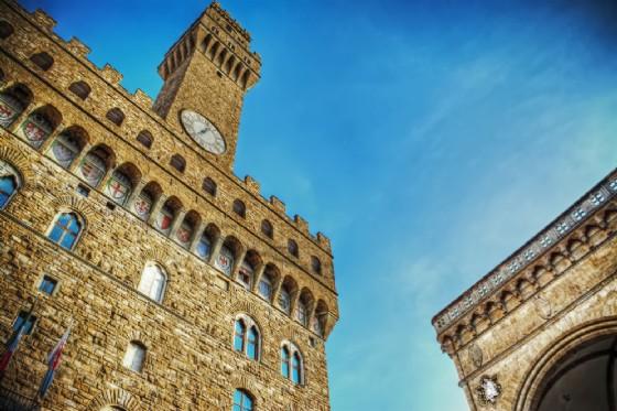 Piazza della Signoria diventa set del film su Michelangelo