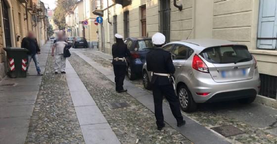 Multe e proteste in Borgo Campidoglio (© Diario di Torino)