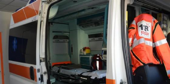 L'ambulanza del 118 (© Diario di Trieste)
