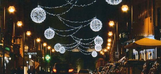 Luci di Natale in città, adesione entro il 23 ottobre (© Confcommercio)