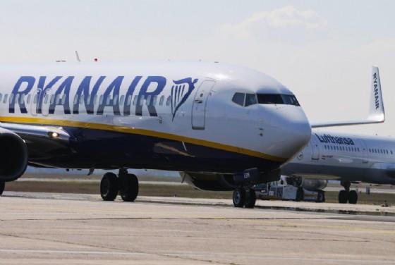 Aereo Ryanair (© ANSA)