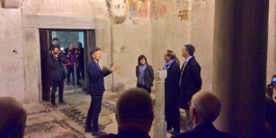 Inaugurato il centro visite del Monastero di Santa Maria in Valle, a Cividale (© Debora Serracchiani | Twitter)