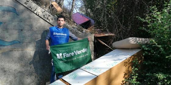 Scoperta un'altra discarica abusiva a Pieris lungo il fiume Isonzo