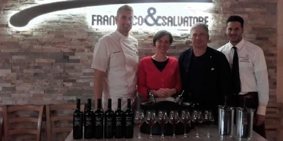 I maestri pizzaioli Francesco e Salvatore Salvo incontrano i vini Gravner