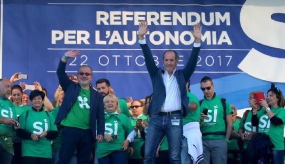 Zaia: Gentiloni è il nostro interlocutore dopo il referendum