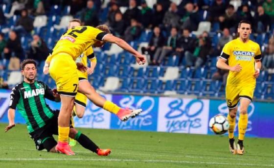 Sassuolo-Udinese, le formazioni ufficiali: Bucchi conferma il 4-3-3, out De Paul