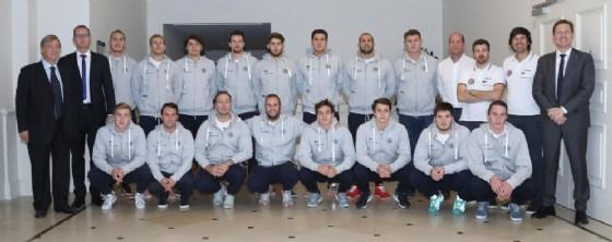 Pallanuoto Trieste: la presentazione delle squadre di Serie A1 maschile e A2 femminile (© Pallanuoto Ts)