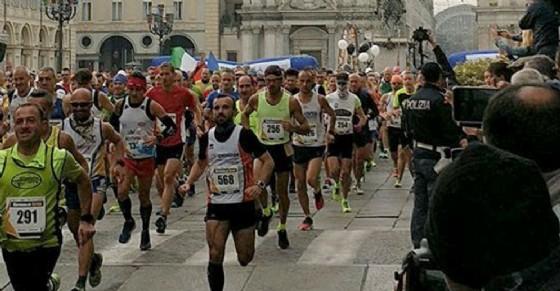 La partenza della Turin Marathon (© Antonello Preteroti)