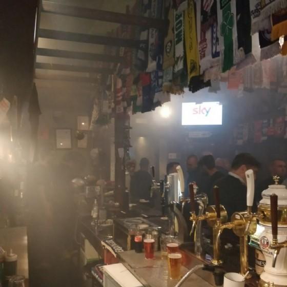 L'interno del pub