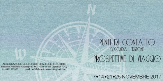"""Inizia la seconda edizione della breve rassegna autunnale """"Punti di contatto"""" (© Associazione culturale Leali delle Notizie)"""