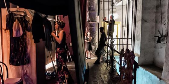 Viaggio nella scatola magica al Nuovo Teatro Comunale di Gradisca d'Isonzo (© Foto Filippo Maria Gianfelice)