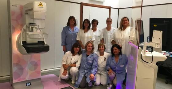 Uno dei nuovi mammografi