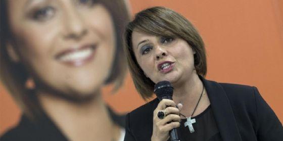 La candidata del centrodestra al Comune di Ostia, Monica Picca