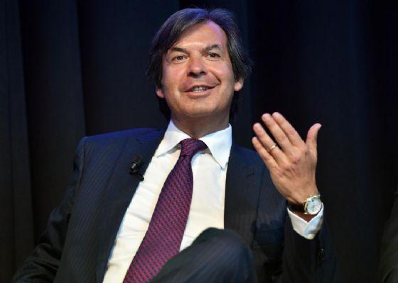 Il Ceo di Intesa Sanpaolo, Carlo Messina, alla Bloomberg european banking conference