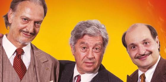 Protagonisti Antonio Catania, Gianluca Ramazzotti e Gigio Alberti (© Hollywood)