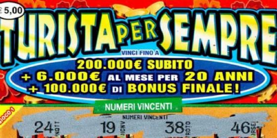 'Gratta e vinci'milionario in Friuli: vinti 1,8 milioni di euro (© Sisal)