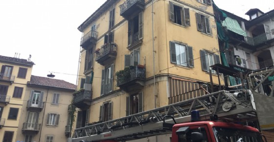 Incendio in via Tenivelli 24
