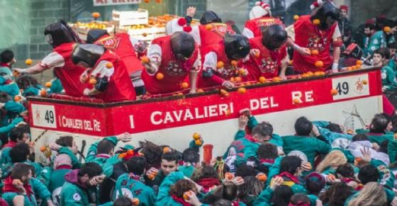 La battaglia delle arance (© Carnevale di Ivrea)