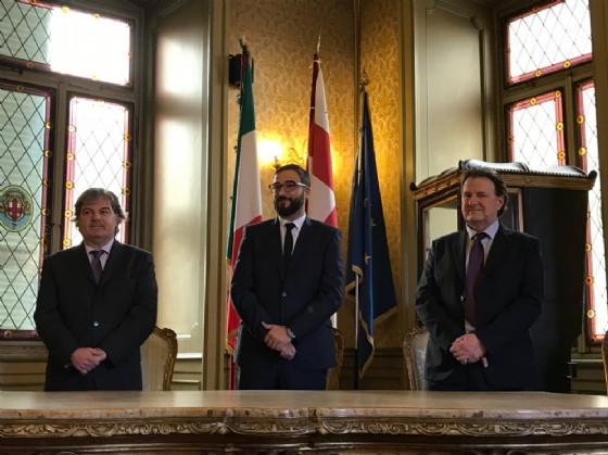 Massimiliano Gamerro, Davide Luigi Diane e Moreno Lacchio