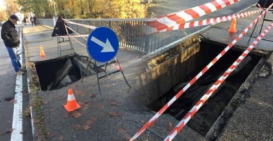 Crollo al ponte Ramello (© Federica Fulco)