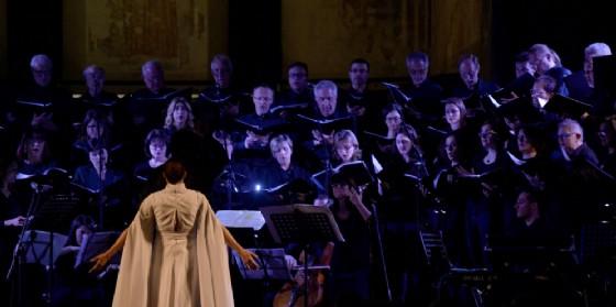 Il progetto culturale 'Turoldo vivo' in scena al Teatro Nuovo Giovanni da Udine (© AblD)