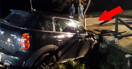Incidente stradale sulla provinciale Bossolino (© ANSA)