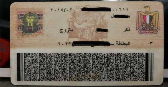 La carta d'identità mostrata al posto della patente