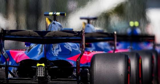 Le monoposto della Scuderia Toro Rosso