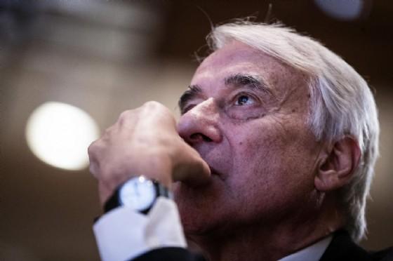"""Giuliano Pisapia durante l'incontro nazionale """"Diversa. Una proposta per l'Italia"""" promosso da """"Campo Progressista"""""""
