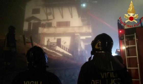 L'intervento di oggi (© Vigili del fuoco)