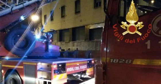 Intervento dei pompieri (© Vigili del fuoco)