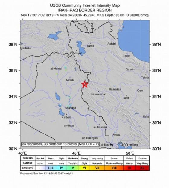 Costa Rica - Scossa di terremoto di magnitudo 6.7, non ci sarebbero vittime