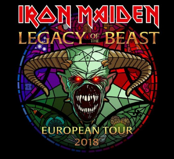IRON MAIDEN: tre date in Italia del 2018