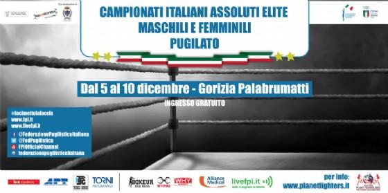 Annunciati i Campionati Italiani Assoluti di Pugilato Olimpico, si terranno al Palabrumatti di Gorizia (© Planet Fighters Boxe)
