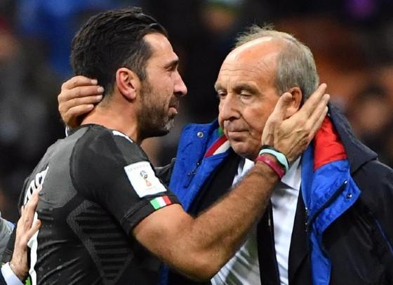 Buffon in lacrime abbraccia Mister Ventura