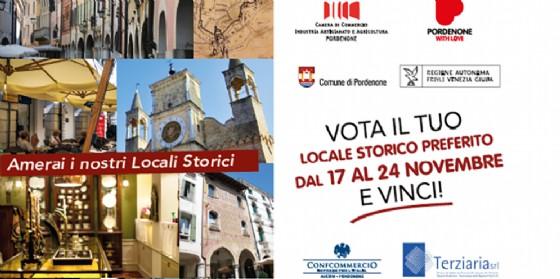 """Il partenza il concorso """"Locali storici with love"""", Pordenone vota il locale storico della città (© Pordenone With Love)"""