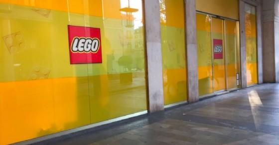 Prima di Natale l'apertura del nuovo Lego Store