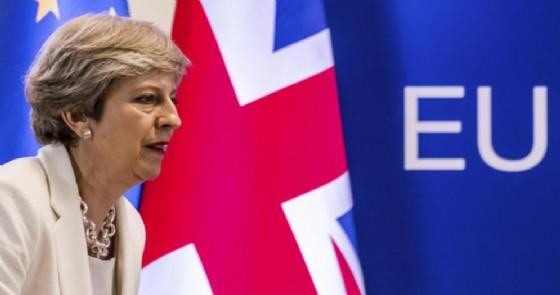 Il Primo Ministro britannico, Theresa May