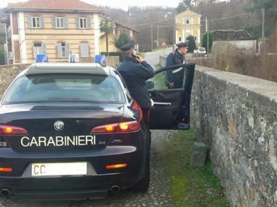 Pomeriggio di follia a Mazzè (© Carabinieri)
