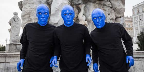 Trieste, delirio in blu: Blue Man Group al Rossetti