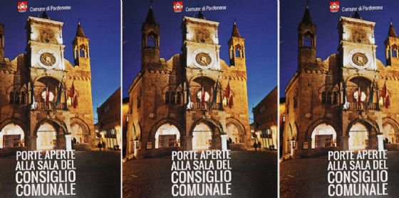 Porte aperte alla sala del Consiglio Comunale di Pordenone (© Comune di Pordenone)