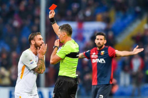 De Rossi rischia due giornate di squalifica: il precedente di Bonucci