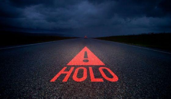 Cos'è Holo, il primo triangolo stradale olografico al mondo